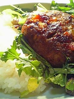 野菜ハンバーグランチ 1-2