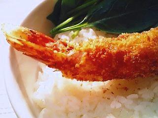 海老フライ丼1-2