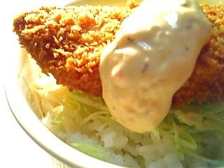 鮭フライ丼1-2