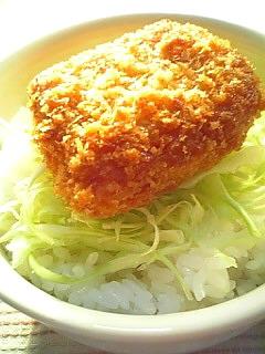 ミニ ランチョンミートフライ丼1-1
