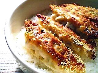 手作り餃子丼1-1