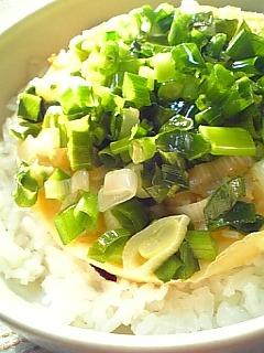 ねぎ焼き丼(京都)