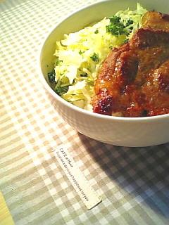 豚の味噌漬け焼き丼1-1