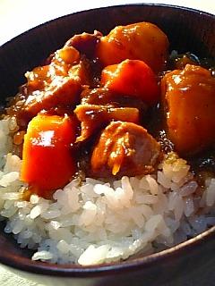 和風カレー丼1-2