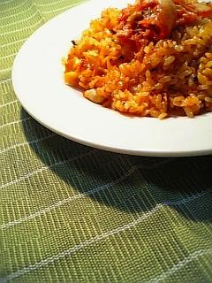 キムチ炒飯1-1