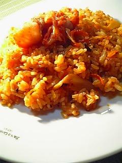 キムチ炒飯1-2