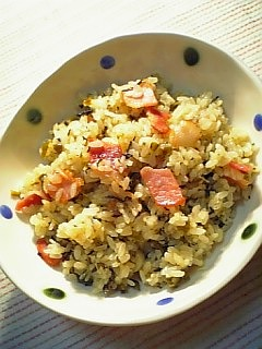 辛子高菜炒飯1-1