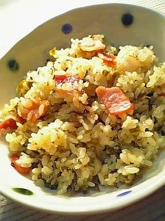 辛子高菜炒飯1-2