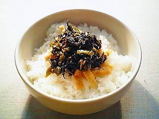 辛子高菜のぴり辛炒め丼1-1