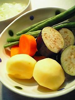 夏野菜のカレーライス1-1