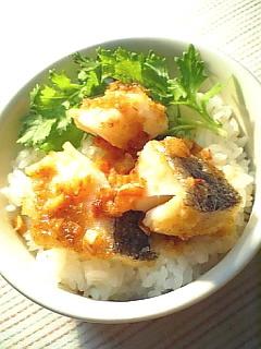 鱈のムニエル(ガーリックバター焼き)1-1