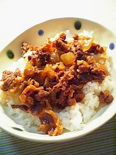 散らし牛丼1-1