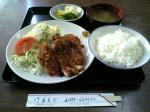 山田ホームレストラン本日の定食C ヒレカツ07