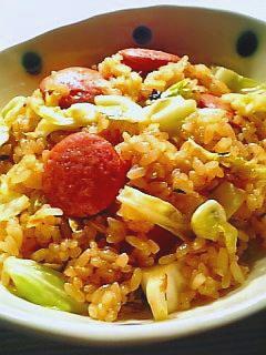 キムチ味炒飯1-2