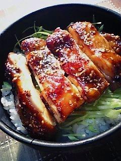 鶏三和の照り焼きチキン1-3