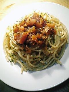 特撰ねぶた漬でスパゲッティ03