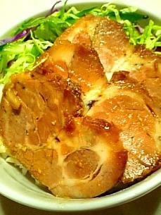 お母さんの焼き豚煮豚1-2