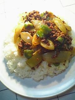 野菜のキーマカレー