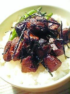 鰹角煮丼1-1