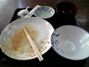 山田ホームレストラン本日の定食C ヒレカツ06