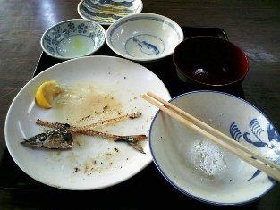 山田ホームレストラン サンマ定食03