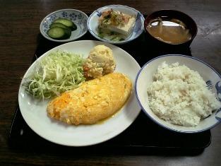 山田ホームレストラン Bオムレツ04