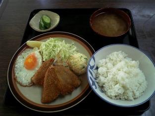 山田ホームレストラン Bアジフライ定食03