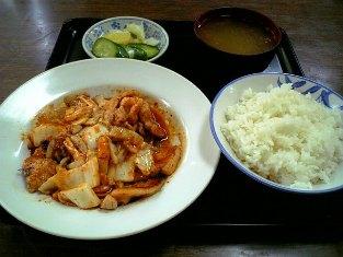 山田ホームレストラン 豚キムチ02