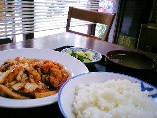 山田ホームレストラン 豚キムチ03