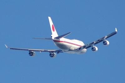 BOEING 747-400 政府専用機