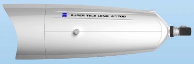 1700mm で屈折光学系ですよ! しかもF4!