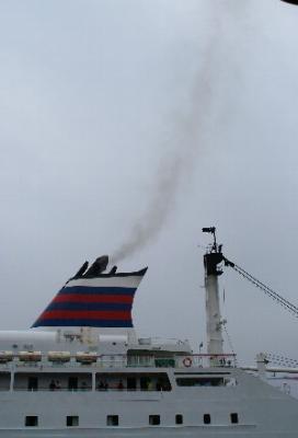 まともな船旅って、じつは初めてです。