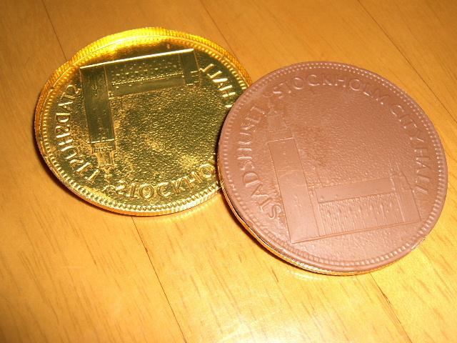 金貨チョコオープン