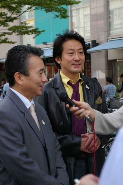 市長と辰巳さん