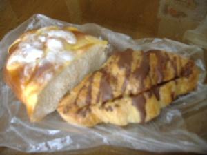 松風のパン