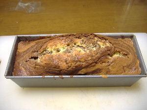 チョコのマーブルパウンドケーキ1