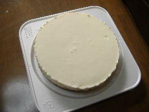 レアチーズケーキ①