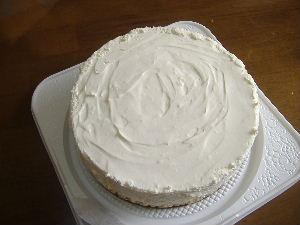 レアチーズケーキ②