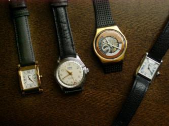 お気に入りの時計たち