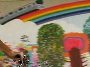 りんりんロードの壁画