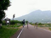 筑波山登場