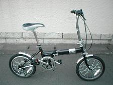 シボレーFDB16自転車全体