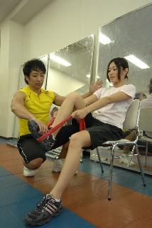 セラバンド・パーソナルトレーニング01