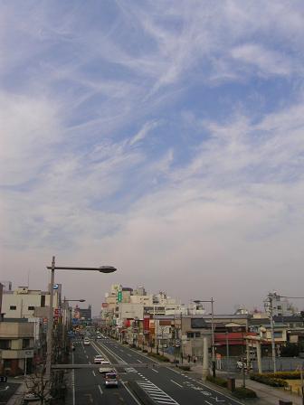 熊谷宿の街並み