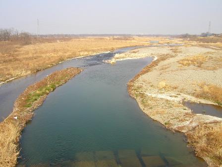 神流川を渡り上州路へ