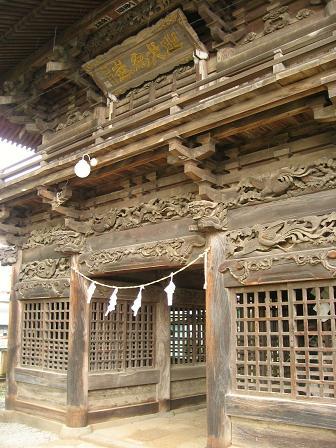 八幡神社随神門