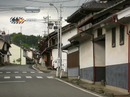 笠取峠東の登り口・芦田宿