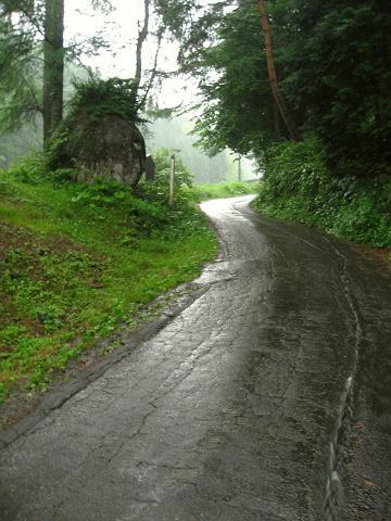 塩尻峠旧道