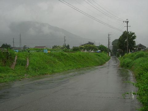 柿沢集落へ