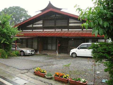 柿沢集落にて